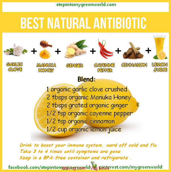 antibiotic-natural